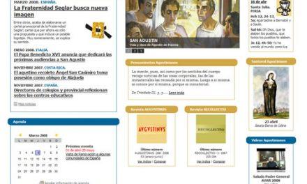 Los Agustinos Recoletos estrenan su web con información sobre san Agustín y los santos de la Orden