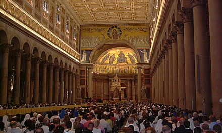 El Papa inicia el Año Paulino recordando a san Agustín