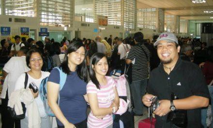 Primeras imágenes de las Juventudes Agustino Recoletas de Filipinas presentes en Sídney