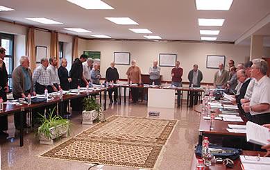 Agustinos recoletos de ocho países estudian el papel de los laicos en el capítulo provincial de San Nicolás de Tolentino