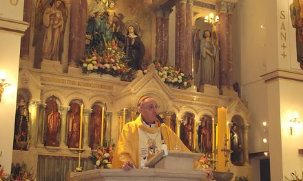 """El cardenal Bergoglio pide a los agustinos recoletos que """"no se queden quietos y tengan coraje"""""""