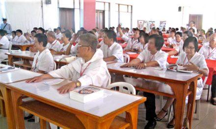 Un centenar de seglares y diez asistentes espirituales participan en la novena convención nacional de la Fraternidad Seglar