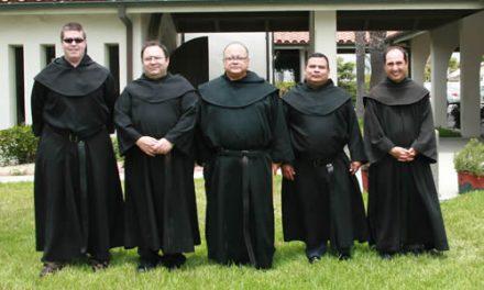 Los frailes norteamericanos eligen a Joseph Gallardo nuevo prior provincial
