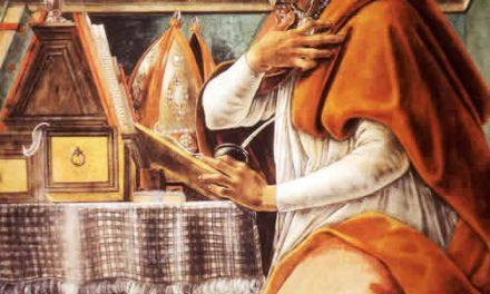 """""""San Agustín nunca pensó en ser sacerdote"""""""