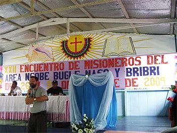 La misión de Bocas del Toro acoge el encuentro de pastoral indígena en Canquintú