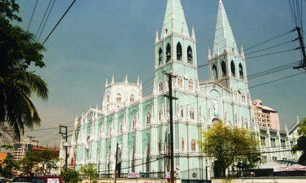 La basílica de San Sebastián, en la lista mundial de monumentos en riesgo