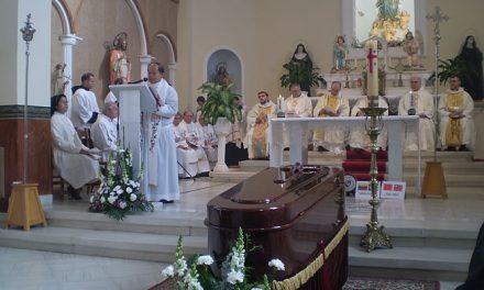 La Madre Esperanza Ayerbe ya descansa en la iglesia del convento de Monteagudo