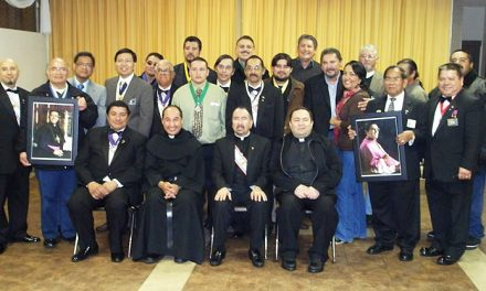 The Knights of Columbus establish a new council named, Bishop Alphonse Gallegos
