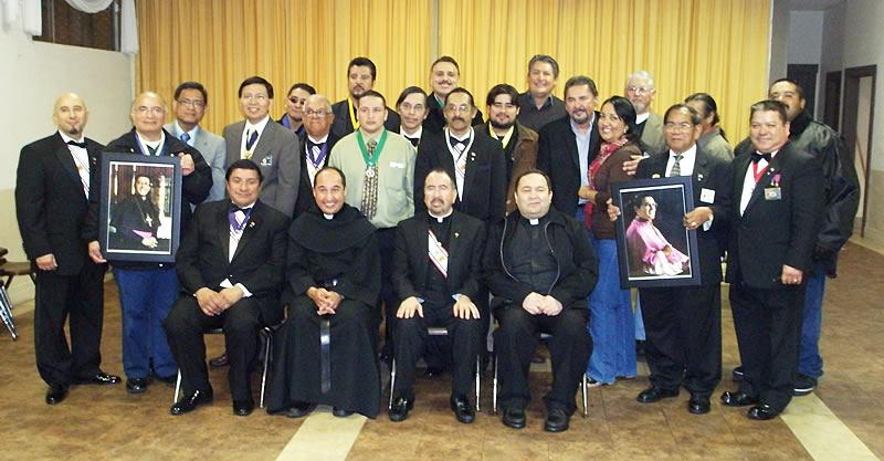 Los Caballeros de Colón han constituido un nuevo consejo con el nombre de Mons. Alfonso Gallegos