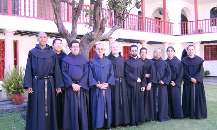 For onemonth seven young men prepare themselves for their perpetual consecration to God