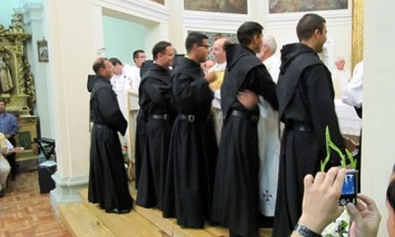 12 young men from six different countries consecrate their lives in Monteagudo