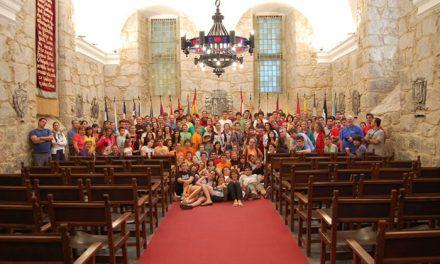 Las JAR recorren 130 kilómetros del Camino de Santiago en el Año Santo