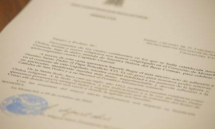 Los capitulares reciben toda la información sobre la Orden durante la primera semana