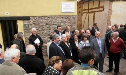 The town of Estollo renders a posthumous tribute to the Augustinian Recollect Fr. Serafín Prado