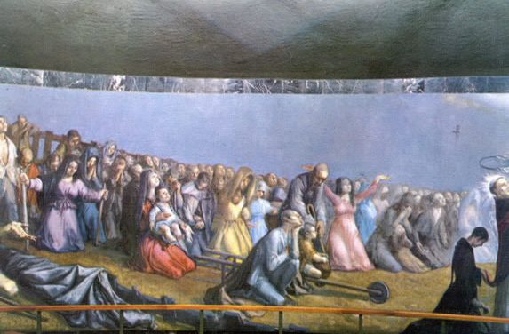 Exhibition of paintings by Juan Barba in Marcilla (Navarra, Spain)