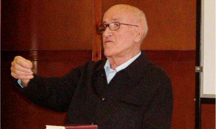 Fallece en San Millán Tirso Alesanco: filósofo, maestro y agustino recoleto