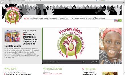 La ONG Haren Alde inicia una etapa de modernización en la que impulsará el voluntariado y la acción social