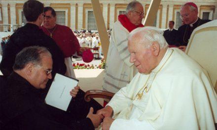 El beato Juan Pablo II, un Papa muy cercano a los agustinos recoletos