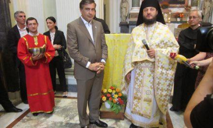 El presidente de Georgia agradece el apoyo de los agustinos recoletos a la Iglesia Ortodoxa