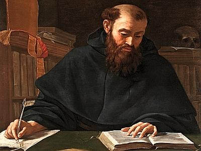 Image result for caravaggio painting of saint augustine