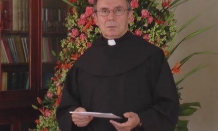 El Prior General invita a ser solidarios con los más pobres en su tradicional felicitación de Navidad