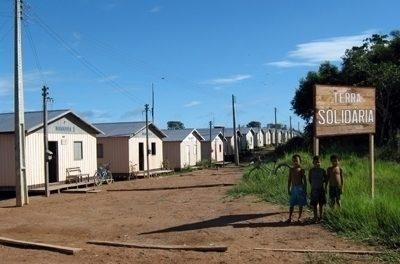 Los agustinos recoletos levantan un barrio en Lábrea para acoger a las familias más pobres