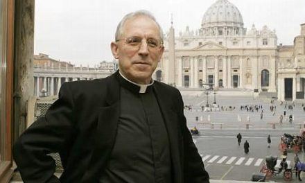 The Pope appoints Eusebio Hernandez as a member of the Congregation for the Consecrated Life