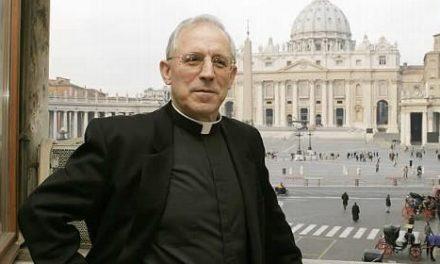 El Papa nombra a Eusebio Hernández  miembro de la Congregación para la Vida Consagrada