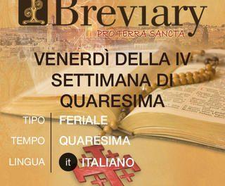 Los textos de la liturgia agustiniana, disponibles en la aplicación iBreviary para smartphones y tablets
