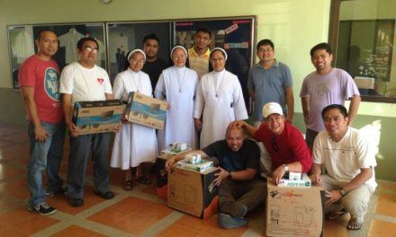 La ayuda solidaria sigue llegando a Filipinas a través de los agustinos recoletos