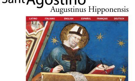 Las obras completas de San Agustín, en español y gratis a través de Internet