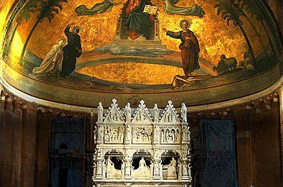 La peregrinación póstuma de San Agustín