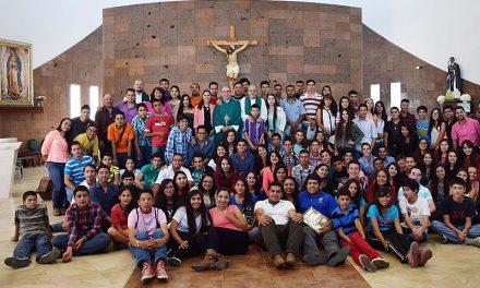 Las Juventudes Agustino Recoletas de México se reúnen con el prior general