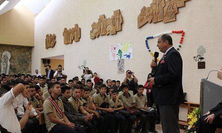 El presidente de Costa Rica visita la Ciudad de los Niños