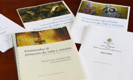 El Prior General promulga el Proyecto de Vida y Misión de la Orden