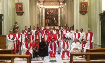 Jornada de reflexión, oración y trabajo en Roma para los jóvenes religiosos agustinos recoletos