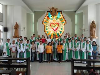 Curso sobre los ejercicios agustinianos y los talleres de oración según san Agustín en Cebú (Filipinas)