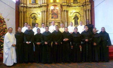 Nombrado el equipo de formación del Noviciado de El Desierto de la Candelaria en Colombia