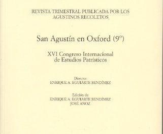 AVGVSTINVS -236-239 – San Agustín en Oxford (9º)- 2015