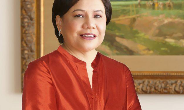 """Senadora Cynthia Villar: """"San Ezequiel nos enseña a ser compasivos con los pobres"""""""