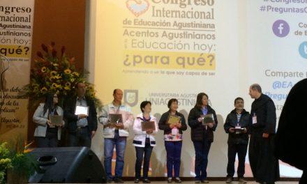 Finaliza el I Congreso Internacional de Educación Agustiniana en Bogotá con un reconocimiento a los rectores de todos los colegios de la Orden de Agustinos Recoletos