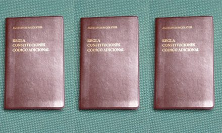 Los agustinos recoletos publican sus nuevas constituciones, una guía práctica para su reestructuración y renovación