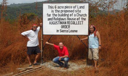Los agustinos recoletos compran en Freetown un terreno para abrir su tercera comunidad