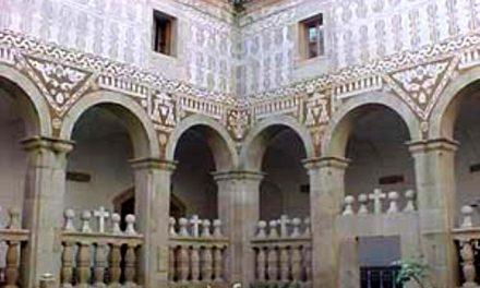 El esgrafiado de Extremadura, una técnica decorativa impulsada en el siglo XVII por los agustinos recoletos