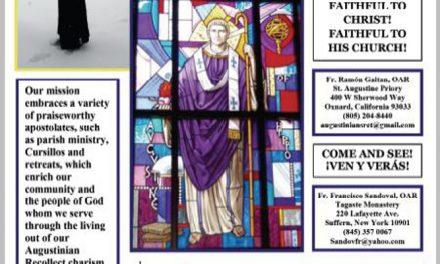 Los agustinos recoletos lanzan una campaña publicitaria ofreciendo su estilo de vida