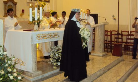 The First Brazilian Augustinian Recollect Nun Professes Solemn Vows