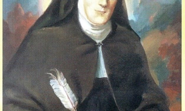 Tribute to the Augustinian Recollect Foundress  Antonia de Jesús