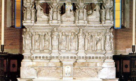 El mausoleo de san Agustín, en Pavía, cumple 650 años