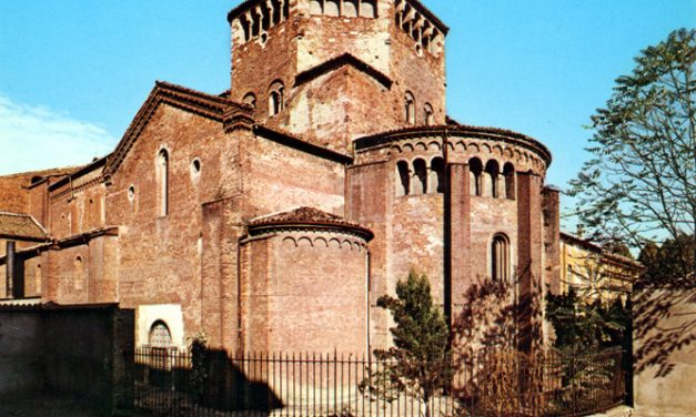 The mausoleum of St. Augustine in Pavia