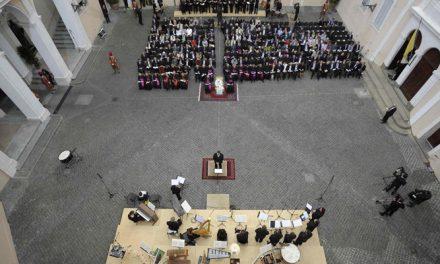 El Papa reafirma la actualidad perenne de San Agustín